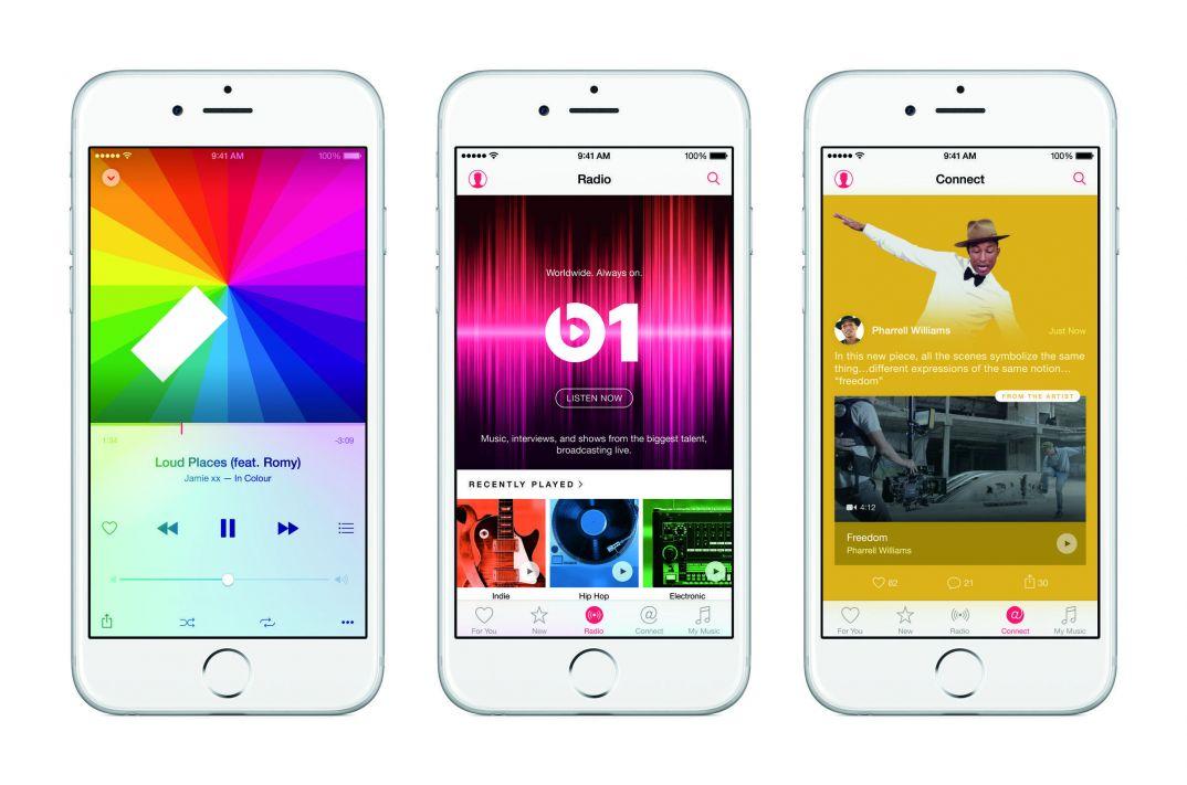 iphone6 3up applemusic features pr print 100590680 orig - DJ School: Как проверить свой слух