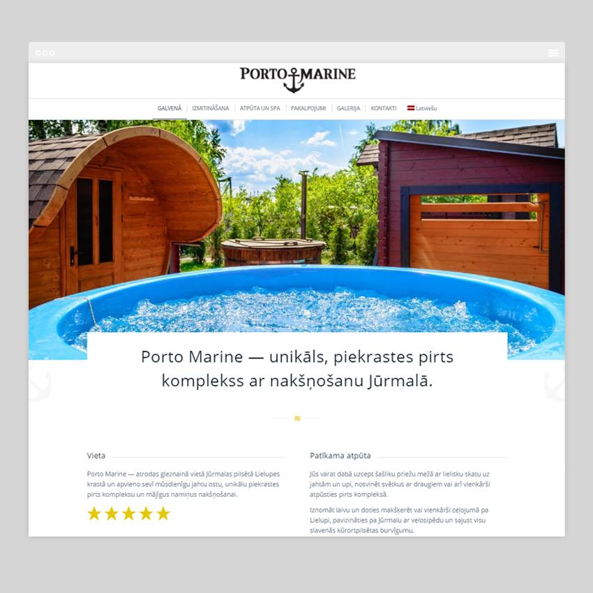 portomarine - Разработка сайтов на Wordpress
