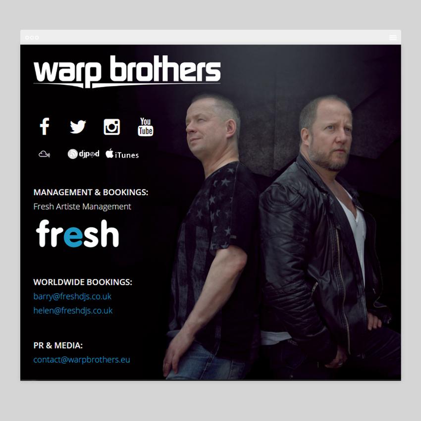 warpbrothers - Разработка сайтов на Wordpress