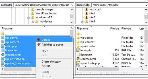 filezillawp - 6 лучших клиентов FTP для пользователей WordPress