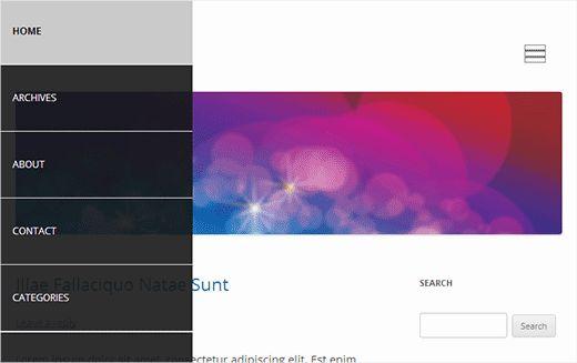 slide panel menu - 8 лучших обучалок по jQuery в WordPress для начинающих