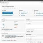 wp admin page 150x150 - Как установить WordPress на ваш ПК используя WAMP