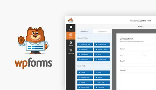 wpformsimage - Сравниваем 5 лучших плагинов для контактных форм в WordPress