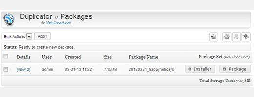 duplicator package installer - Как правильно перенести WordPress на новый домен без потери SEO
