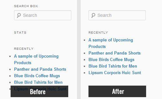 hidden widget titles - Как скрыть заголовки у виджетов в WordPress