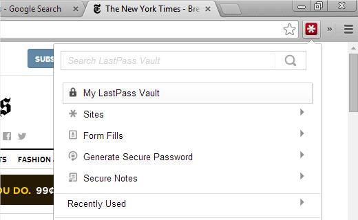 lastpass-chrome