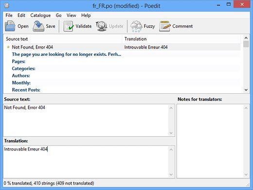 translating wordpress theme - Как найти и перевести тему для WordPress