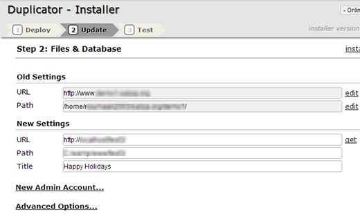 update urls - Как правильно перенести WordPress на новый домен без потери SEO