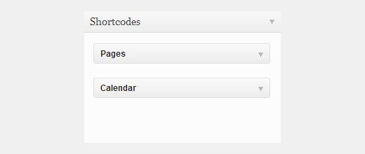 widget in post page - Как добавить виджет в содержимое страницы WordPress