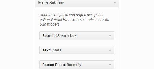 widget titles - Как скрыть заголовки у виджетов в WordPress