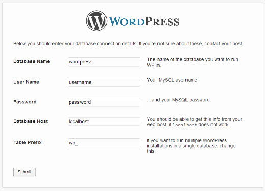wordpress-create-wp-config
