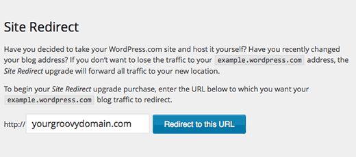 wpcom-site-redirect