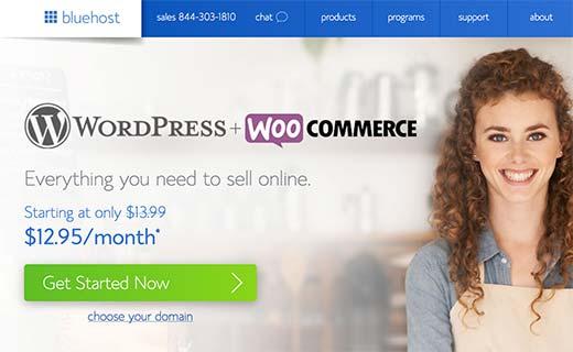 bluehostsignup1 - Как открыть интернет-магазин: пошаговое руководство
