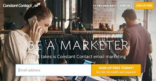 cc signup - Как подсоединить Constant Contact к Wordpress: пошаговое руководство