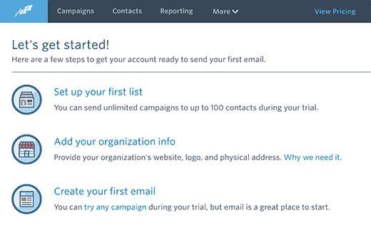 ccdashboard - Как подсоединить Constant Contact к Wordpress: пошаговое руководство