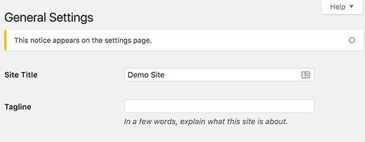 customadminnotice - Как добавить свои администраторские уведомления в Wordpress