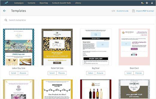 emailtemplates - Как подсоединить Constant Contact к Wordpress: пошаговое руководство