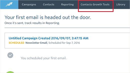 growthtools - Как подсоединить Constant Contact к Wordpress: пошаговое руководство