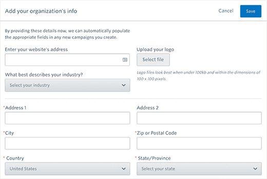 orginfo - Как подсоединить Constant Contact к Wordpress: пошаговое руководство