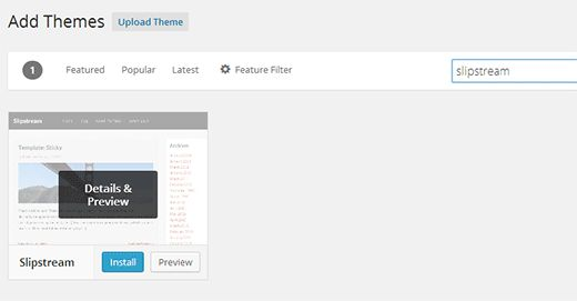 search-free-theme