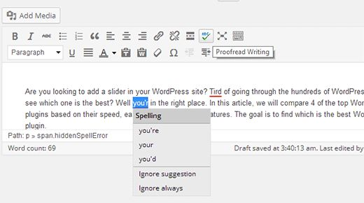 writingmistakes - Как задержать посты от появления в RSS фидах Wordpress