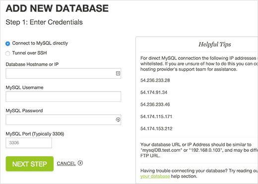 adddb - Как настроить автоматический бэкап с помощью Codeguard