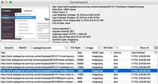 cacheviewer2 - Как восстановить сайт Wordpress одной лишь копией баз данных