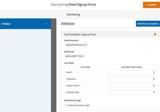connectfields - Полная инструкция как подсоединить Aweber к Wordpress