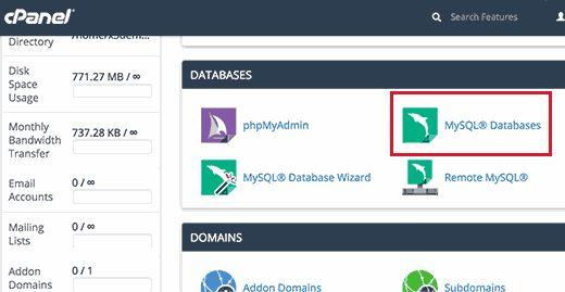 mysqldatabase - Как восстановить сайт Wordpress одной лишь копией баз данных