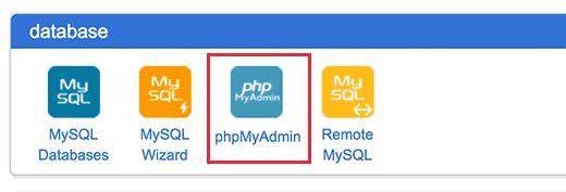 phpmyadmin - Как найти и заменять текст в вашей базе данных Wordpress одним щелчком