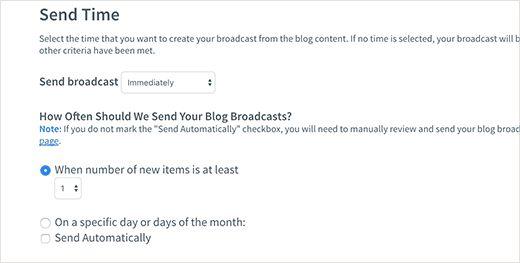send settings - Полная инструкция как подсоединить Aweber к Wordpress