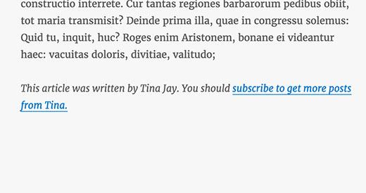 subscribeauthorlink - Как дать пользователям подписываться на авторов в Wordpress?