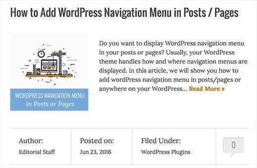 usingexcerpts - 18 полезных трюков как ускорить свой сайт на Wordpress