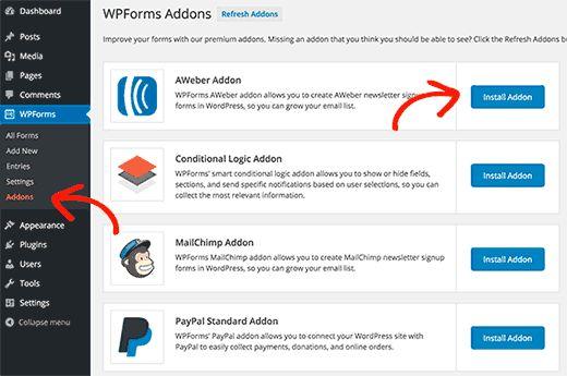 wpform aweber addon - Полная инструкция как подсоединить Aweber к Wordpress
