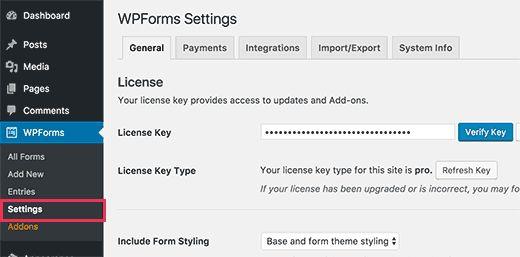wpformslicense - Как разрешить пользователям публиковать свои посты на сайте Wordpress