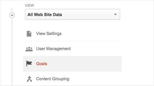 analytics goals - Как добавить отслеживание событий в Google Analytics