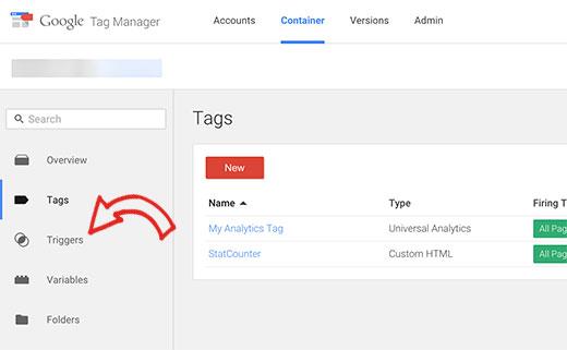 gtm triggers - Как добавить отслеживание событий в Google Analytics