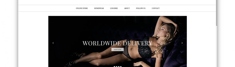 Интернет магазин для производителя нижнего белья