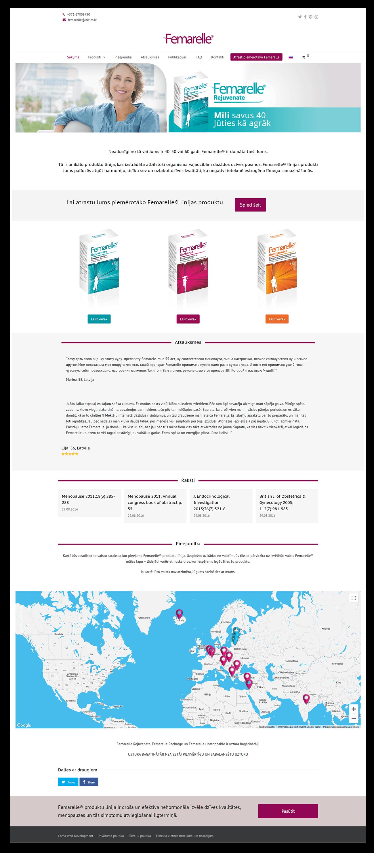 Разработка и поддержка сайтов компании Elvim 2